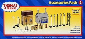 thomas tank train set by bachmann ho scale accessories pack 2