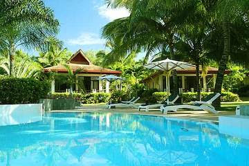 Philippines tropical paradise swimming pool hot spring Spa holiday resort