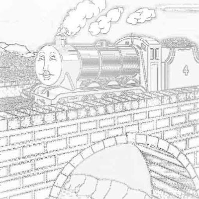 The tank Gordon coloring pages free online picture fun