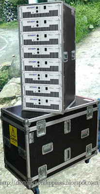 Ecler DPA 4000T rugged amplifiers for a Disco bass and sound
