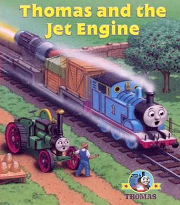 The fastest steam train Thomas and The Jet Engine