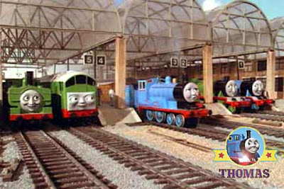 Thomas tank engine Gordon Edward the train James train Great western railway Duck and Boco diesel