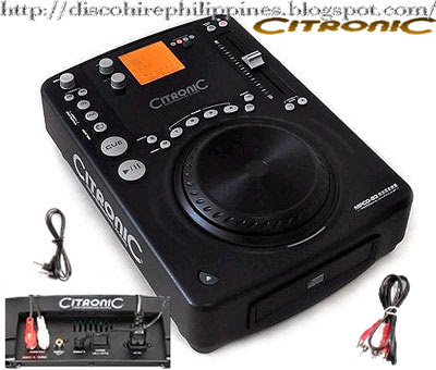 An innovative space age stylish look Citronic mpcd s3 cd dj equipment disco CD and MP3 player unit