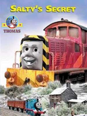 Train Salty's secret Thomas the tank engine salty the dockyard diesel on the isle of Sodor railways