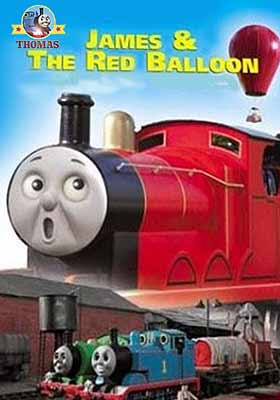 Thomas tank James and the red balloon in the hot summer holiday travel time on the island of Sodor