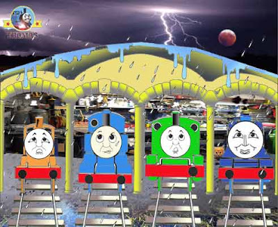 1b Play trainline free spot the difference games online for kids with Percy and Gordon tank engine