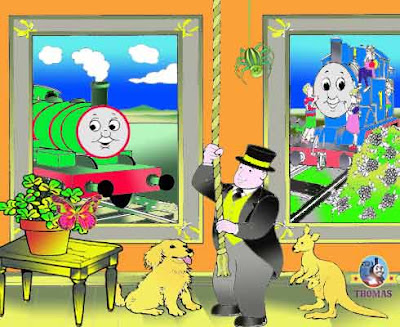 2a Sodor trainline Percy and Thomas the train find the difference in the spot the difference sheets