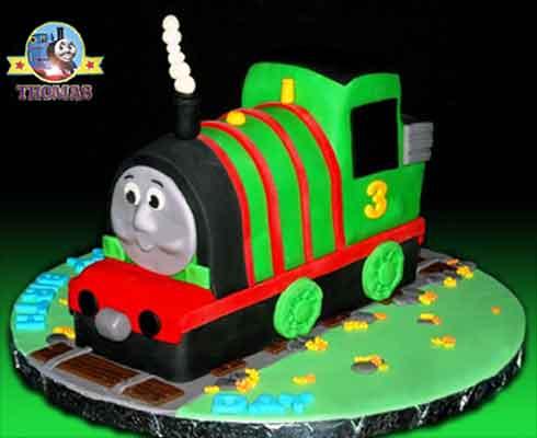 The Train Birthday Cake Decorations Birthday Cakes