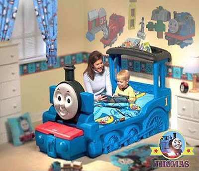Friends and Thomas Little Tikes Bed Train Theme toddler bedroom a truly necessity decor centerpiece