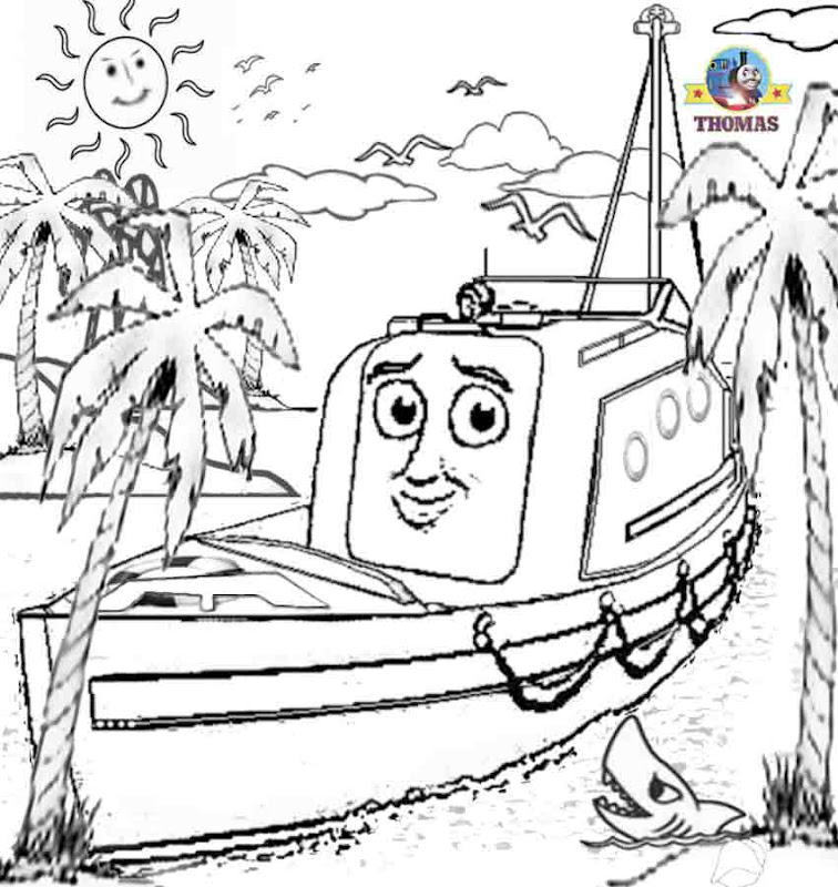 and friends misty island rescue coloring pages for kids free online title=
