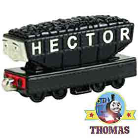 Largest of all the troublesome trucks Learning Curve Thomas the tank engine Hector cargo car playset