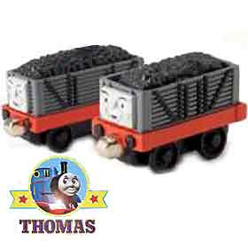 Toy railways Take Along Sodor Thomas the tank engine troublesome trucks with funny giggling sounds