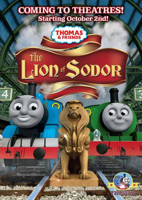 train thomas and the lion of sodor island railway friends