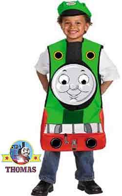 Delightful seasonal Thomas and friends Percy Halloween costume for kids Trick or Treat made of foam