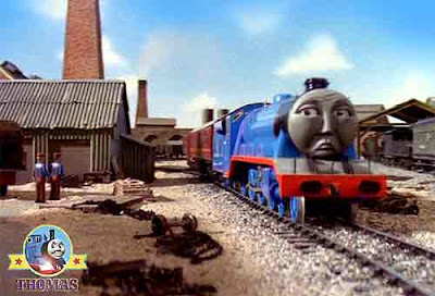 Gremlins Thomas and friends Gordon the big express engine boilers fire would not glow its hot flames