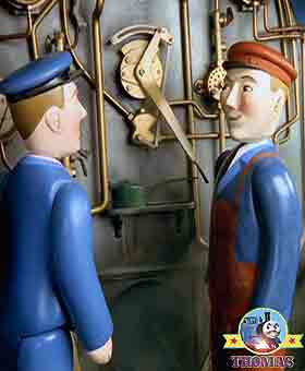 Gordon the big express engine driver decided to make up for lost time there was trouble on the line