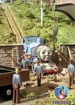 Thomas the tank engine silly mistake lucky nobody was injured in this crash and smash train accident