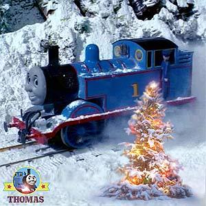 Thomas Christmas Snow Song Thomas & Friends Video Clip With lyrics ...