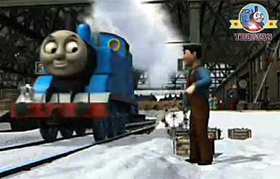 DVD Thomas and Friends Merry Winter Wish movies for kids at Christmas teaching toddlers good values
