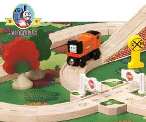 Thomas and friends Boulder Mountain set for ages 3  up incorporates a boulder Thumper stone masher
