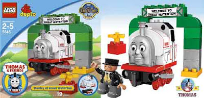 Kids LEGO Thomas and friends Stanley the train set toys for toddlers Duplo Stanley at Great Waterton