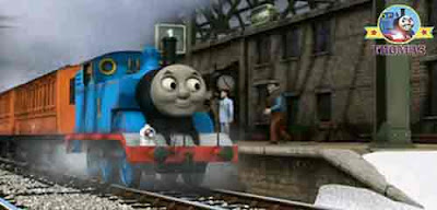 Winter Thomas and the hat adventure great Knapford station Sir Topham Hatt important top hat package