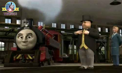 CGI Hero of the Rails Thomas the train film for kids Victor and the Sir Topham Hatt Sodor Steamworks