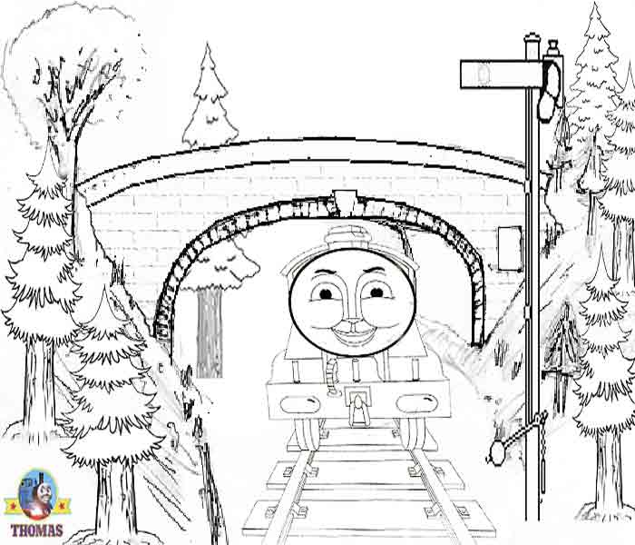 Thomas The Tank Engine Gordon Train Coloring Pages Climbing A Hill Big Express 8 Free Online Printable Boys