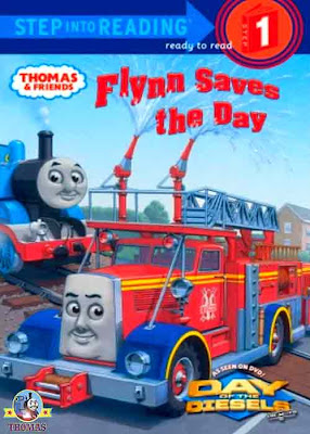 Flynn the fire engine Thomas and friends day of the diesels DVD CGI 2011 special Flynn Saves the Day