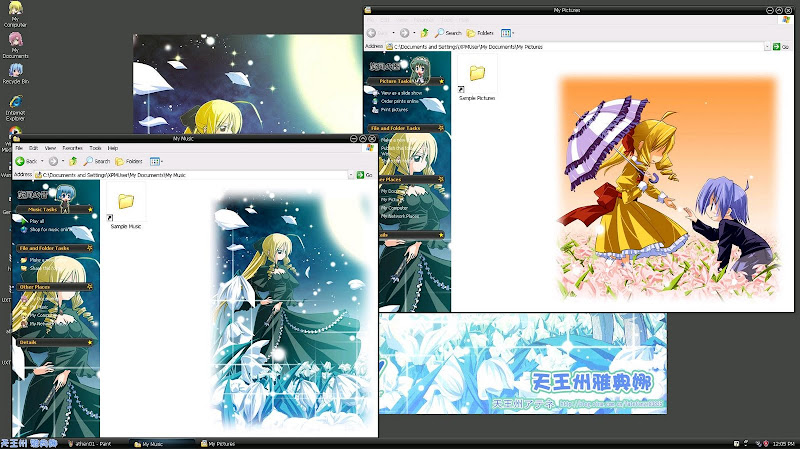 5 New Themes for Windows XP Bộ 15 theme dành cho windows XP Athen02