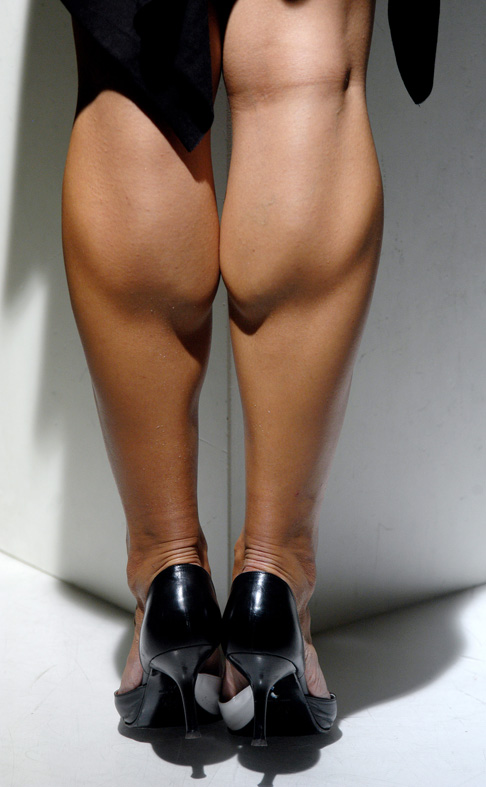 Muscular Calves Women 43