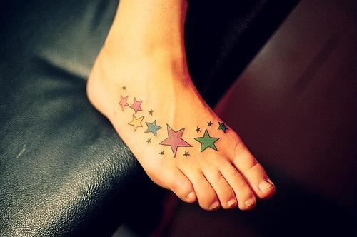 Tatuajes de Estrellas en el