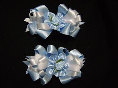 Aprende a hacer Ganchos con Flores a base de Cintas