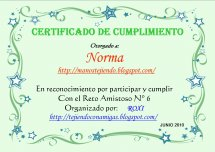 Mi Certificado Sexto reto