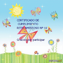 Certificado del reto