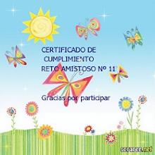 Certificado del reto