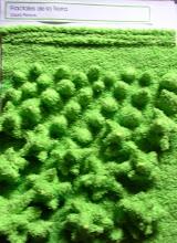 textura realizada en toalla