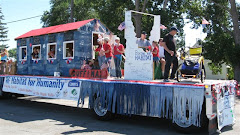 Habitat for Humanity Float in Buhl 4th of Jul 09 parade
