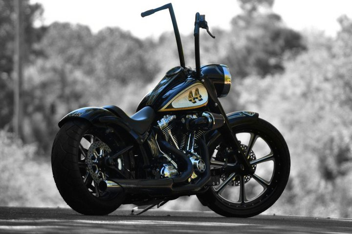 Custom Harley-Davidson Night Train