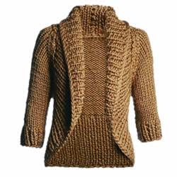 casaco com lurex