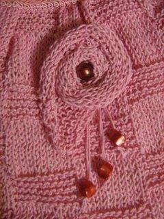 rosas em trico...diferentes