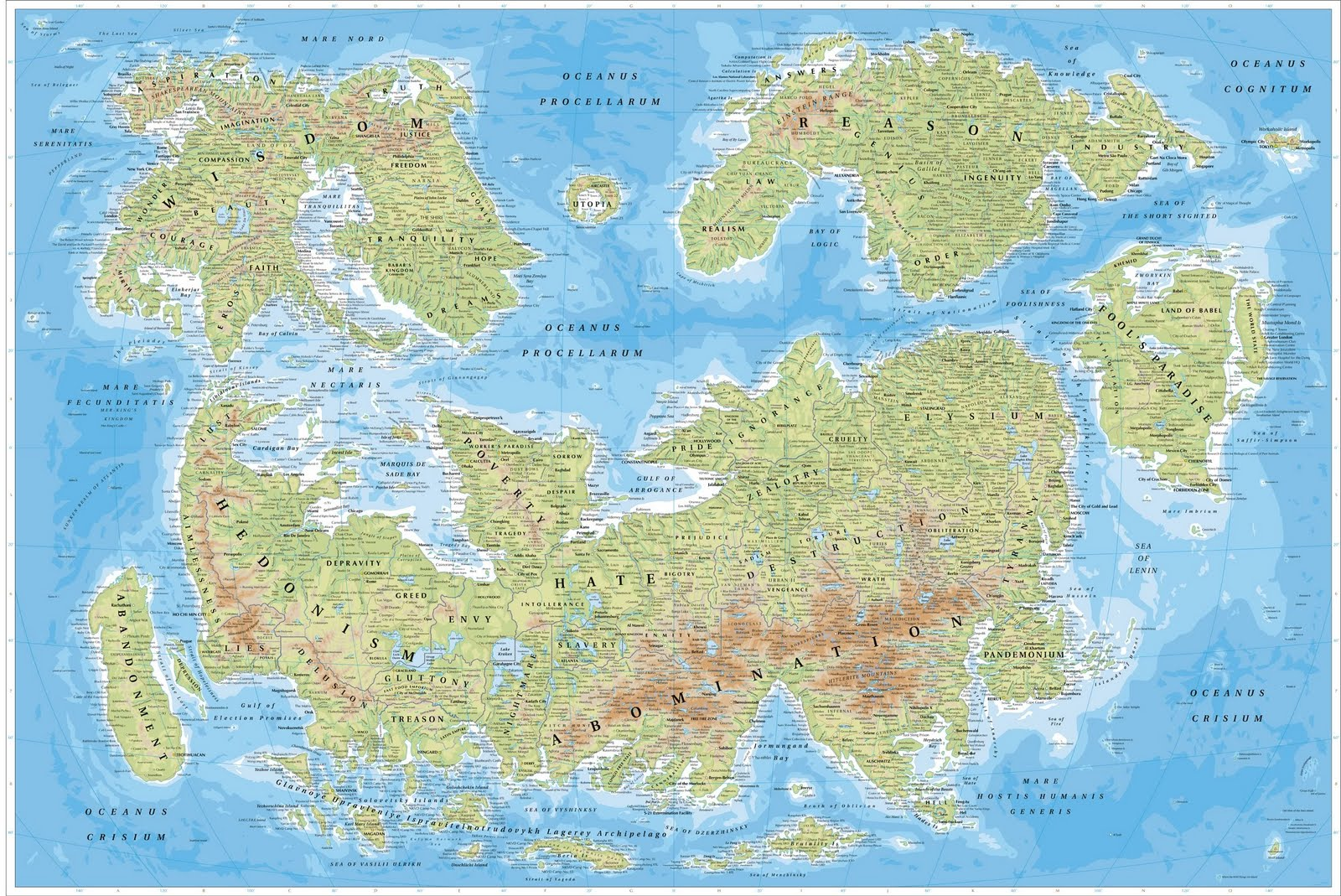 Amazing maps map of humanity gumiabroncs Image collections
