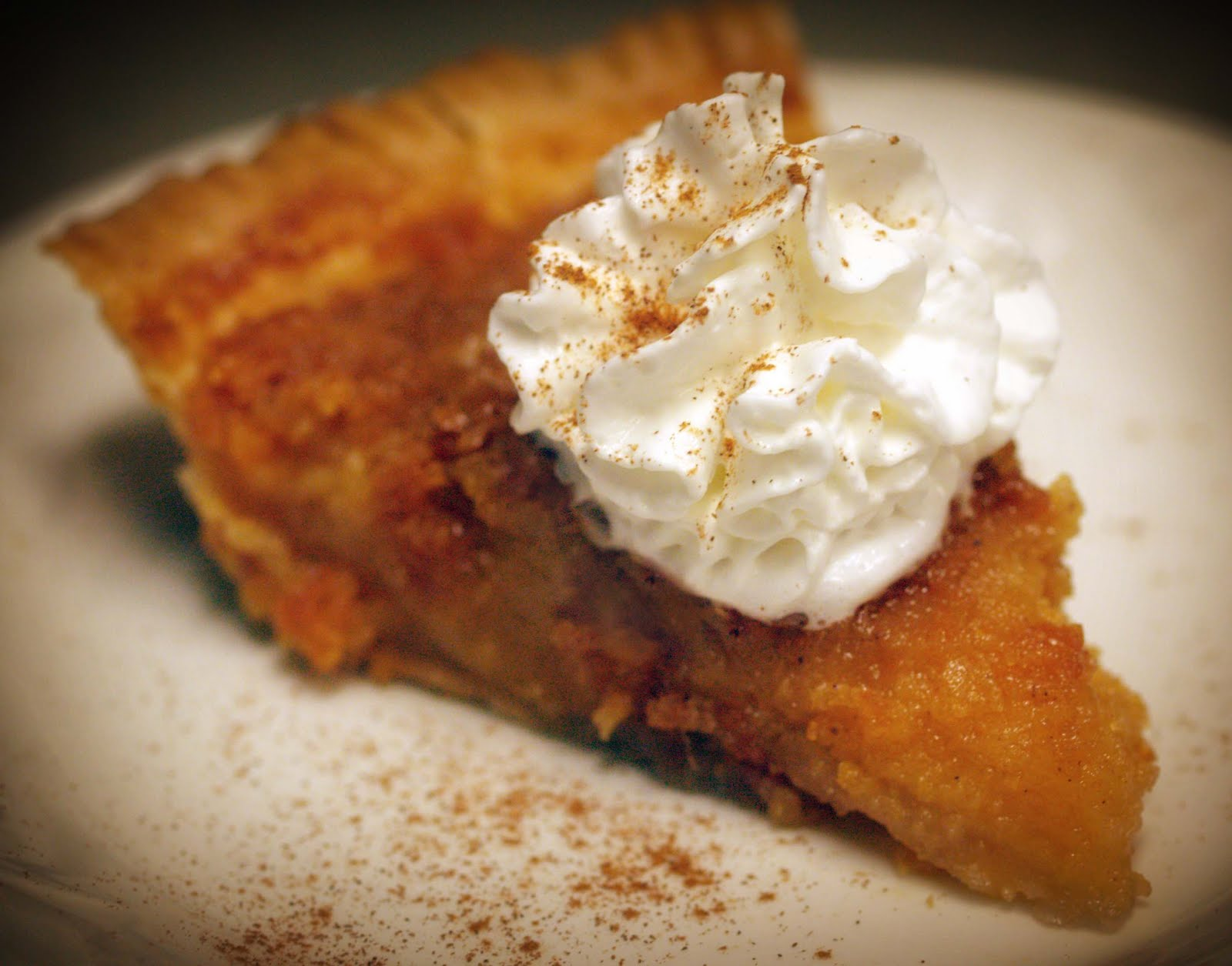 Shirley Ann's Sweet Potato Pie - Beyond Black & White