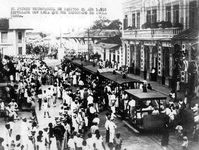 Streetcar on Prospero St. 1910
