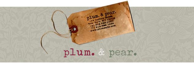 plum & pear