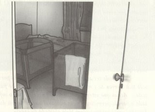 Chapter 11: Analysis of a crime scene, apartment 5A MaddieCotsThruDoor