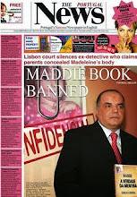 McCanns ban Maddie book