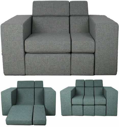 da real code combo couch all in one lounger love seat sofa bed