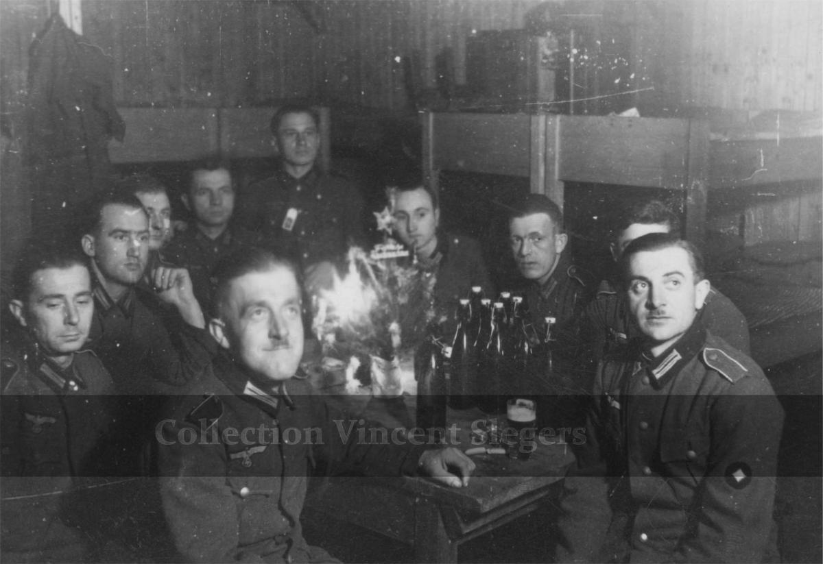 Album foto suasana natal (weihnacht) zaman nazi jerman