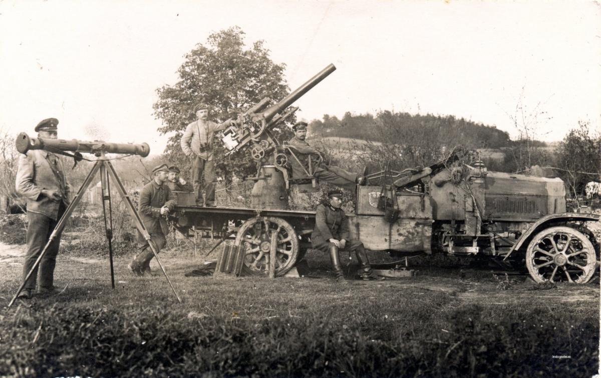 artillerie Flak%2Btruck%2Bin%2B1917